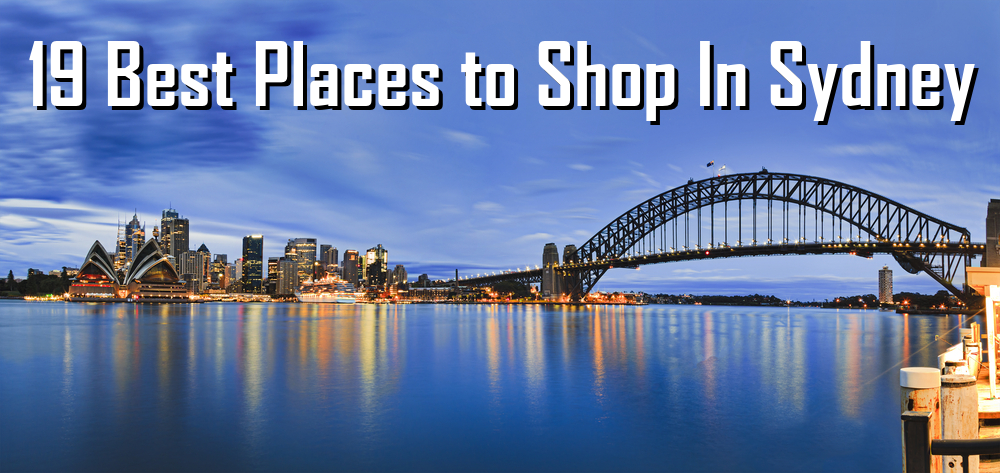 Experience Shopping in Sydney