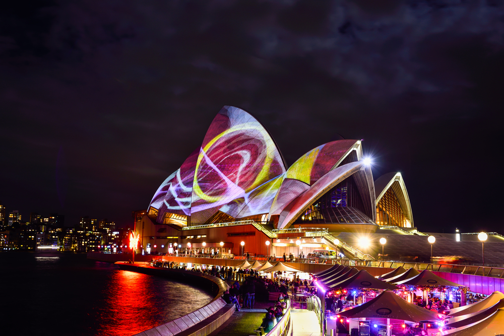 Sydney Opera House in Night