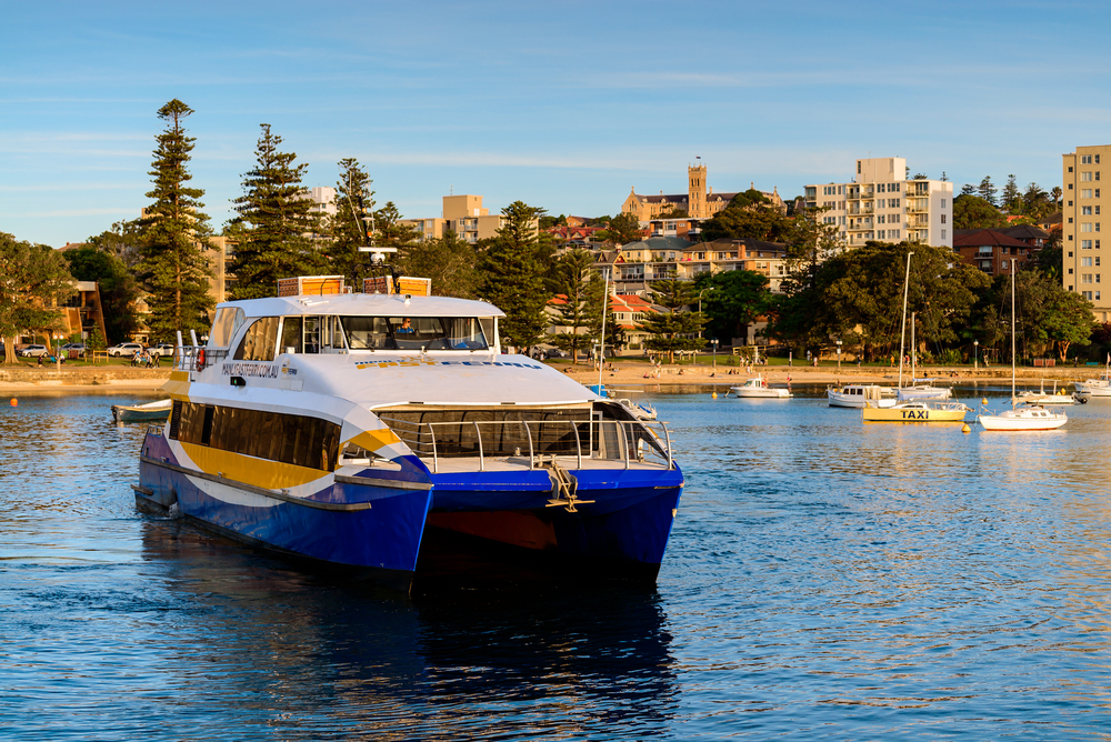 Ferry Ride To Manly Beach